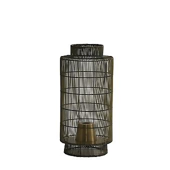 Light & Living Table Lamp Lantern Ø24x52 Cm GRUARO Wire Ant. Bronze