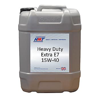 HMT HMTM363 Heavy Duty Extra E7 15W-40 dieselmotor Oi 20 liter/4 Gallon