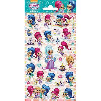 Glitter Stickers Shimmer & Shine stickers 30pcs