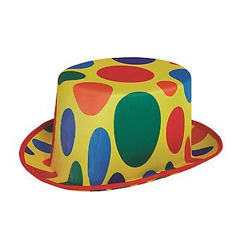 Clown Zylinderhut Polka Dot