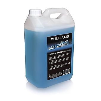 Stain and odour remover from Car Fabric, Carpet, Upholstery Cleaner 5L Wiliams