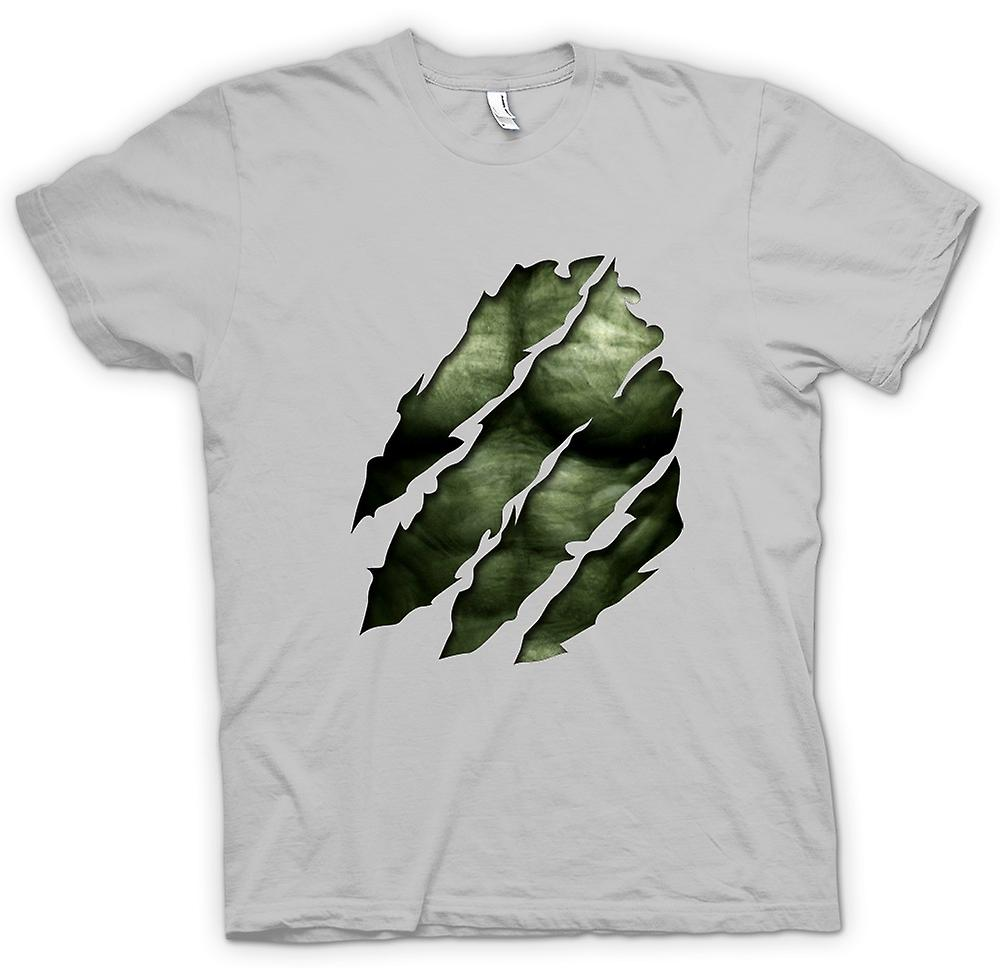 Mens T-shirt - The Hulk - Ripped Effect