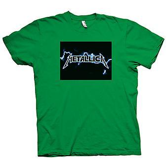 Mens T-shirt - Metallica Logo - Rock Metal