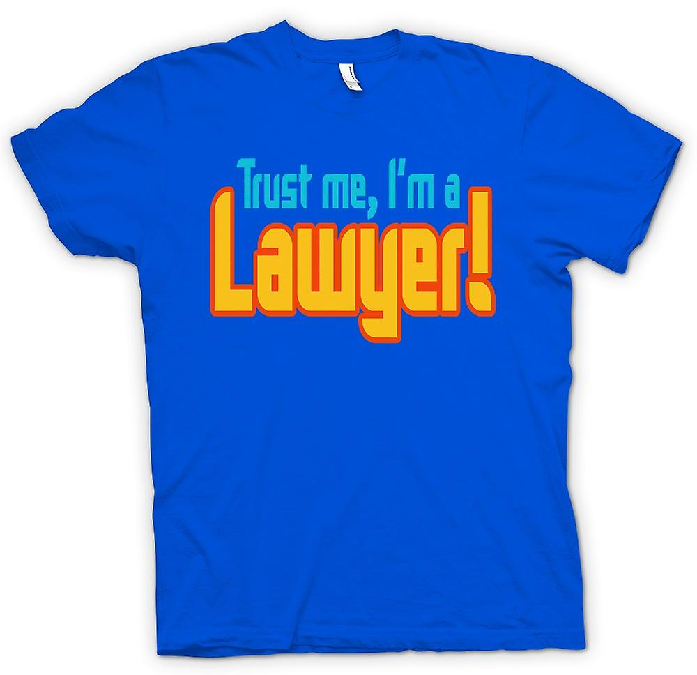 Mens T-shirt - Trust Me, I'm A Lawyer! - Quote
