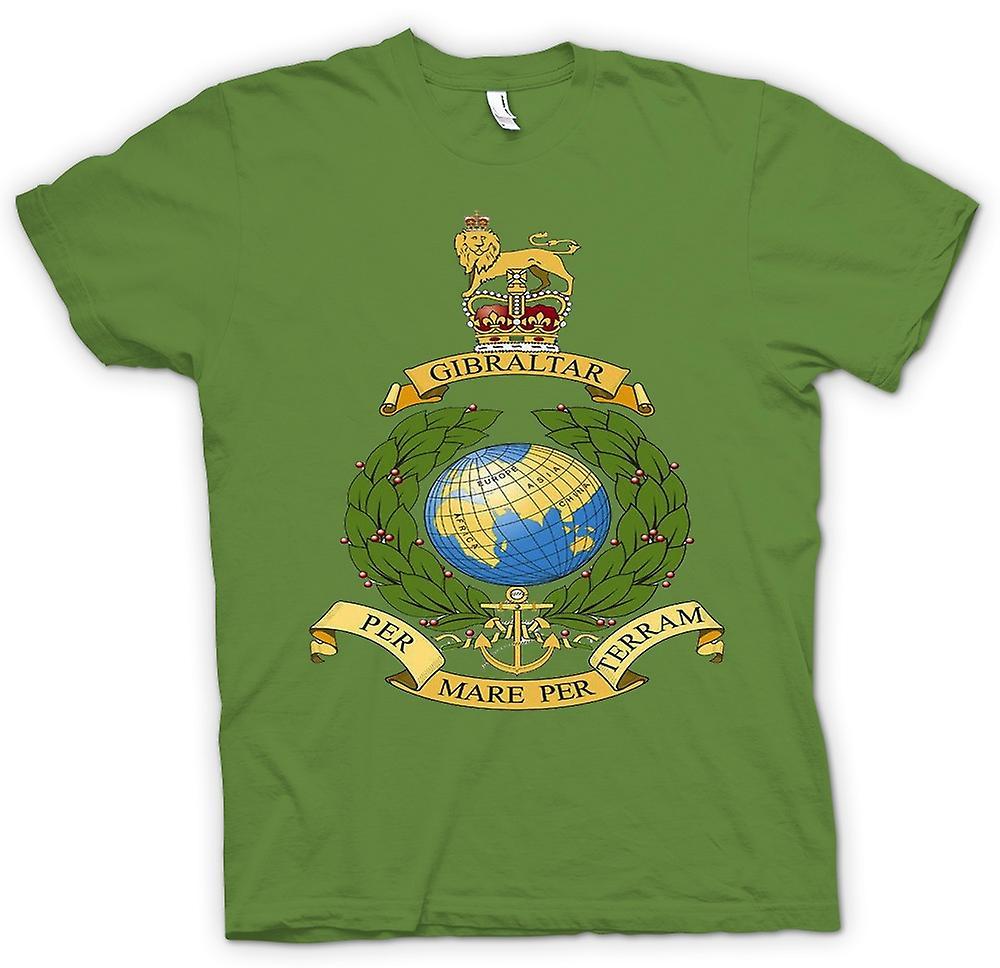 Mens T-shirt - königliche Marine Logo - pro Mare pro Terram