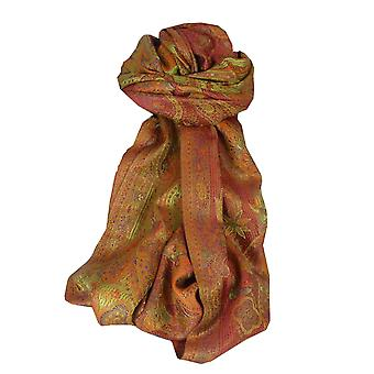 Jamawar Premium Silk stal mönster 4001 av Pashmina & Silk
