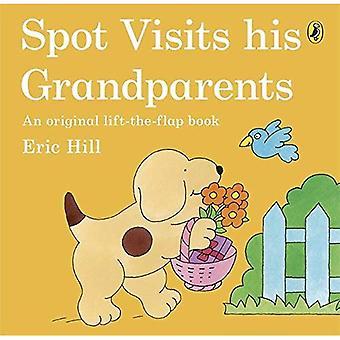 Vor Ort besucht seine Großeltern