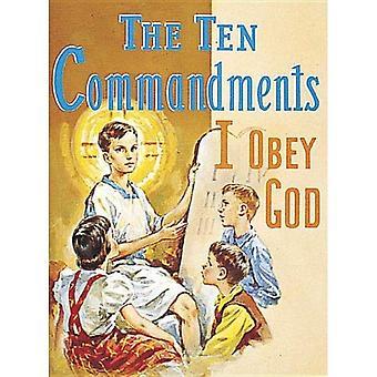 The Ten Commandments: I Obey God (Pack of 10)