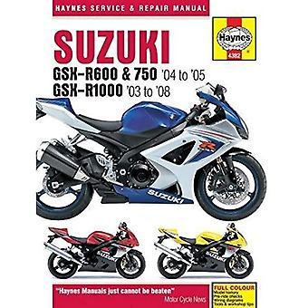 Suzuki GSX-R600/750 2004-2005 & GSX-R1000 2003-2008
