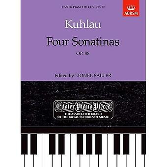 Four Sonatinas, Op. 88: Easier Piano Pieces 79 (Easier Piano Pieces (ABRSM))