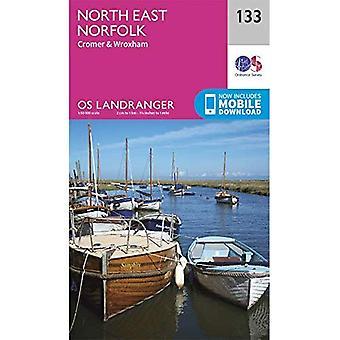 North East Norfolk: Cromer & Wroxham (OS Landranger Map)