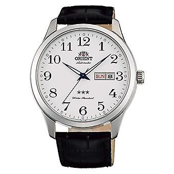 Orient Automatic Analog Man with a leather strap FAB0B004W9