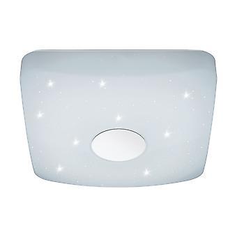 Eglo - Voltago 2 efeito de brilho branco branco ajustável EG95974 luz de teto