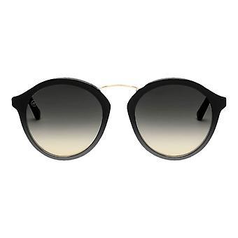 Electric California Mix Tape Sunglasses - Gloss Black/Gradient Black