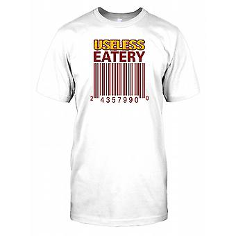 Useless Eatery Barcode - Conspiracy Kids T Shirt