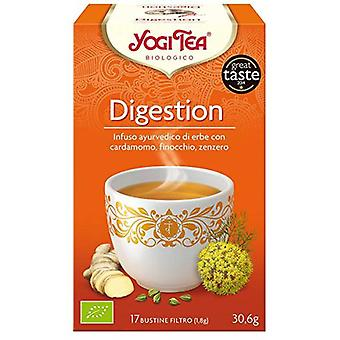Yogi Tea Digestive 17 Sachets (Food, Beverages & Tobacco , Beverages , Tea & Infusions)
