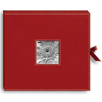 Pioneer 3-Ring Sewn Leatherette Album Box 13