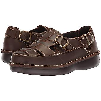 Propét Womens Villager Leather Closed Toe Casual Sport Sandals