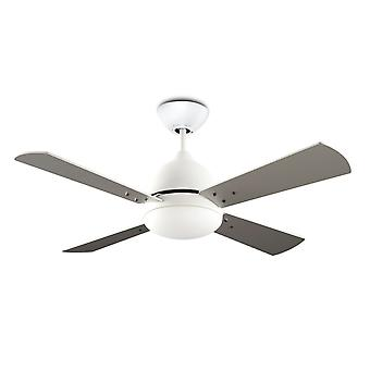 Ceiling fan Borneo White with Light 106cm / 42