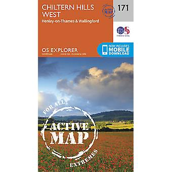 Chiltern Hills West - Henley-on-Thames and Wallingford by Ordnance Su