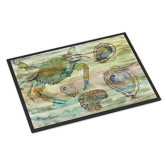 Crab, Shrimp and Oyster Sunset Indoor or Outdoor Mat 24x36