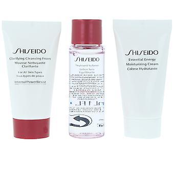 Shiseido essencial Energy Starter Kit Set 3 PZ para mulheres