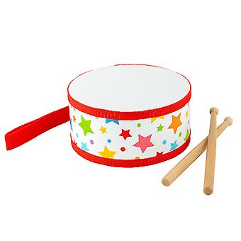 Bigjigs Toys Children's Junior Drum-muziekinstrumenten