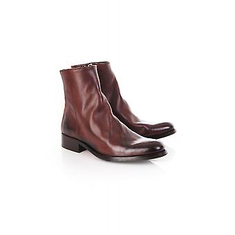 Paul Smith Womens Adalia Side Zip Boot With Contrast Panel