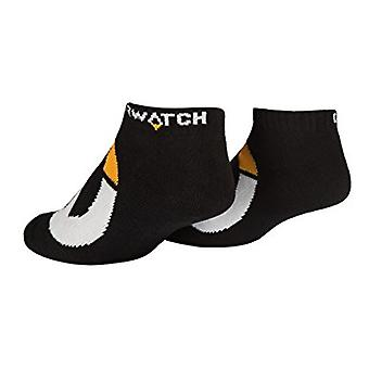 Socks - Overwatch - Logo Symbol Icon BLACK pack-of-3 j6197-black