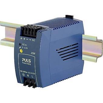 PULS MiniLine ML30.101 Rail mounted PSU (DIN) 5 Vdc 5 A 25 W 1 x