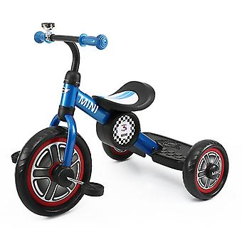 Licensed Mini Cooper Trike With Chunky 10 inch Wheels Blue