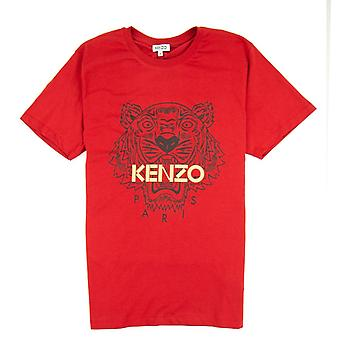 Kenzo Glitter Tiger T-shirt rot