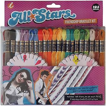 Alle Stars Freundschaft Armband Thread Party Pack Kit - I1403