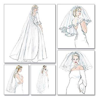 Bridal Veils  One Size Only Pattern M4126  Osz