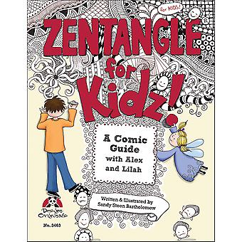 Design Originals Zentangle For Kidz Do 3663