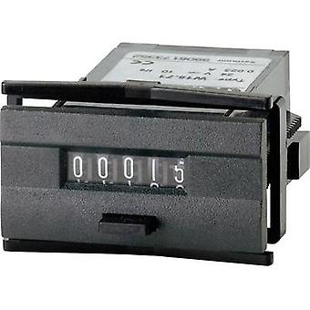 Kübler W 15.51 24 V/DC Mini pulse counter type W 15,51, can be reset - Assembly dimensions 45 x 22 x 2 mm