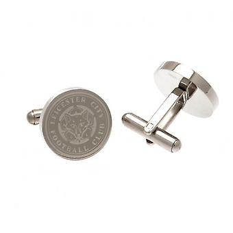 Leicester City Stainless Steel Cufflinks CR