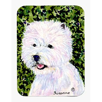 Westie Mouse Pad / Hot Pad / sottopentola