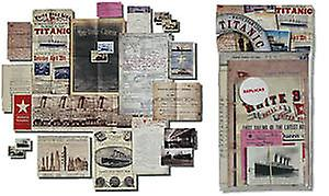 Titanic nostalgic memorabilia pack of replica items (mp)