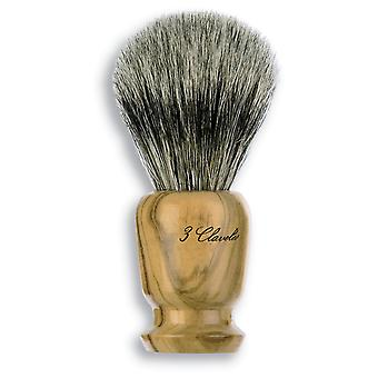 3 Claveles Badger Shaving Brush Olive Wood (Man , Shaving , Brushes)