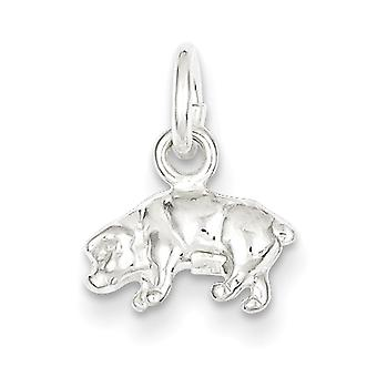 Charm in argento Sterling maiale