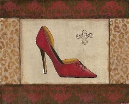 Fashion by Shoe I Poster Print by Fashion Sophie Devereux 3d042e