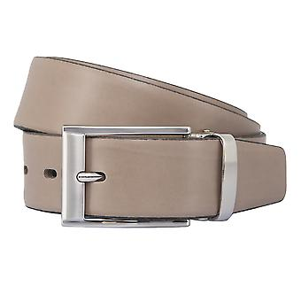 BERND GÖTZ belts men's belts leather belt Leather Brown/mud 2357
