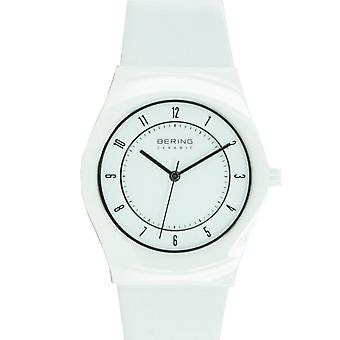 Bering Unisex Watch wristwatch slim ceramic - 32035-654 leather