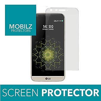 Kvalitet fuld dæksel buet 3D hærdet glas skærm protektor For LG G5 klar