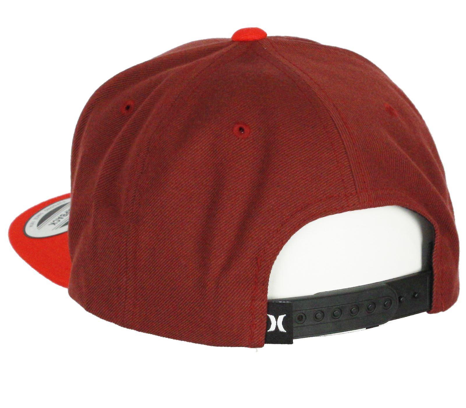 Hurley Snapback Flatbill Cap ~ nur eine & rot