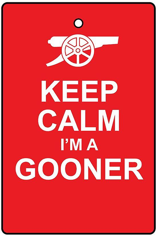 Keep Calm I'm A Gooner Car Air Freshener