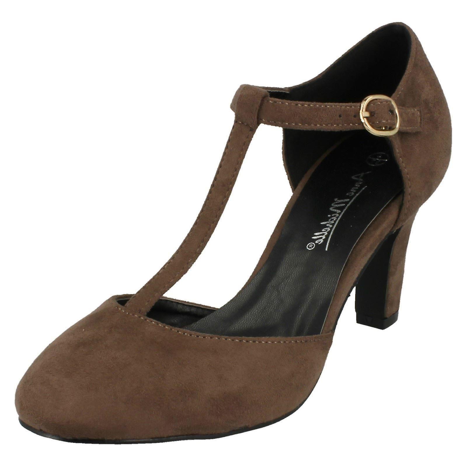 Le signore Anne Michelle T-Bar scarpe intelligente F9951