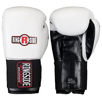 Ринга МВФ Tech спарринг боксерские перчатки - белый
