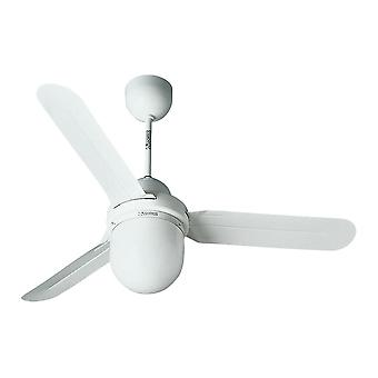 Ceiling Fan Nordik white 1S/L Design with lighting